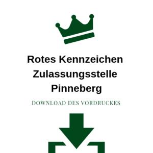 Rotes Kennzeichen Zulassungsstelle Pinneberg