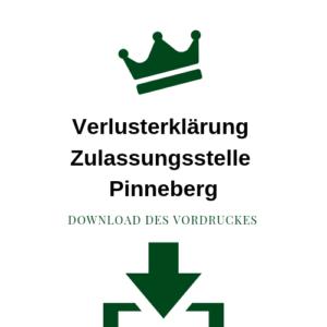 Verlusterklärung Zulassungsstelle Pinneberg