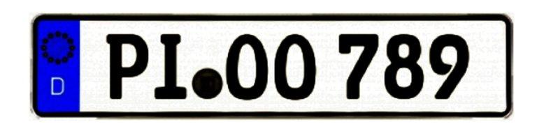 Wunschkennzeichen PI in der Zulassungsstelle Kreis Pinneberg