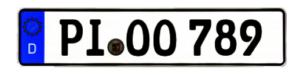 Wunschkennzeichen PI in der Zulassungsstelle Pinneberg